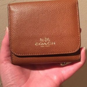 Secret rainbow Coach wallet